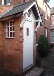Garden House front door